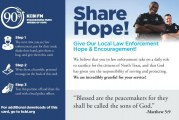 KCBI Shares Hope with Dallas Police Officers