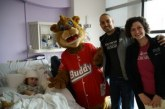 Buddy the KSBJ Prayer Bear Visits Texas Children's Hospital