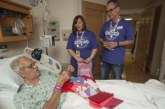 KVNE Hosts Deliver Valentine's Day Cards to Hospitals and Nursing Homes
