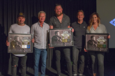 "Zach Williams Receives Gold Certification Plaque For ""Chain Breaker"""