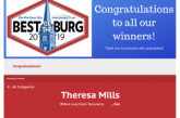 Congratulations to Theresa Mills