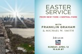 Franklin Graham to Share Easter Message on Fox News Sunday Morning