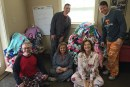 WCQR Listeners Pile Up PJs for Station Project