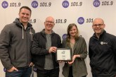 Life 101.9 Receives Best of the Best Award