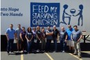 Family Life Radio Staff Packaged 3,700 Meals for Starving Children